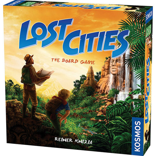 Lost Cities Board Game 로스트시티 보드게임 2-4인용